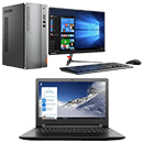 Lenovo Desktop and Laptop